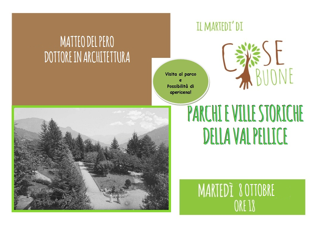 Matteo Del Pero – Parchi e ville storiche della Val Pellice