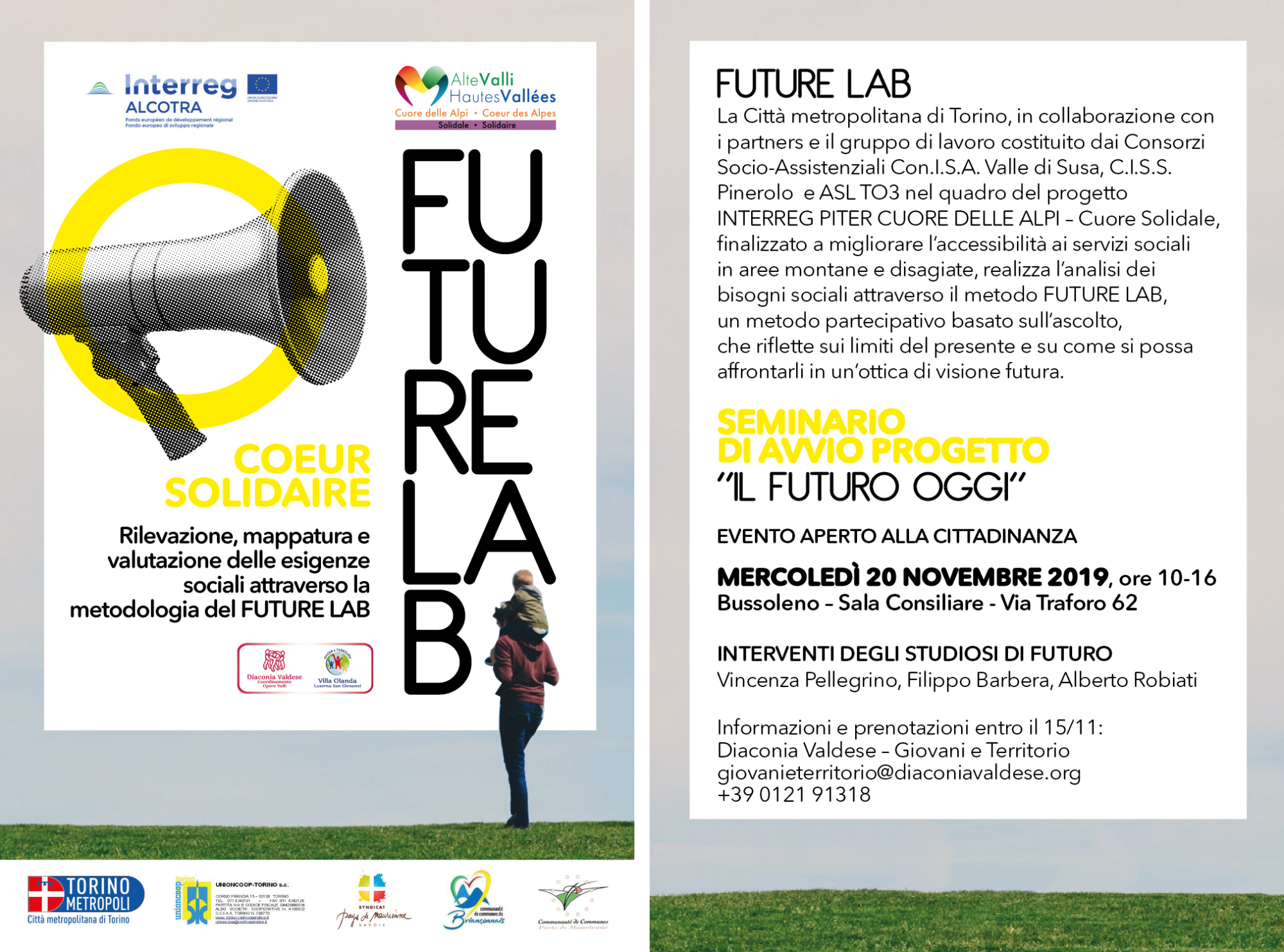 """FUTURELAB Seminario di avvio progetto """"Il futuro oggi"""""""