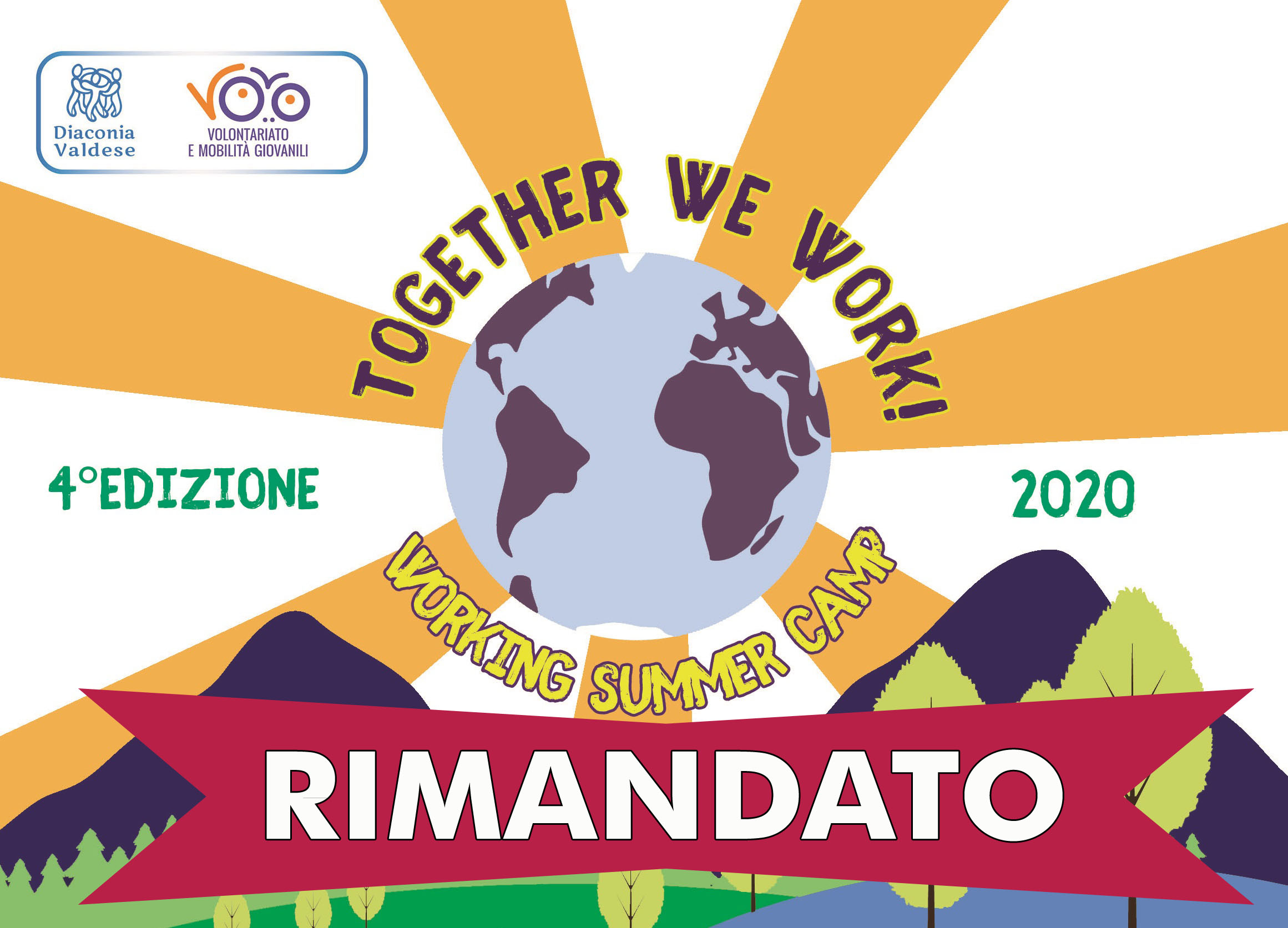 "Working summer camp 2020 ""Together we work!"" - NUOVE DATE"