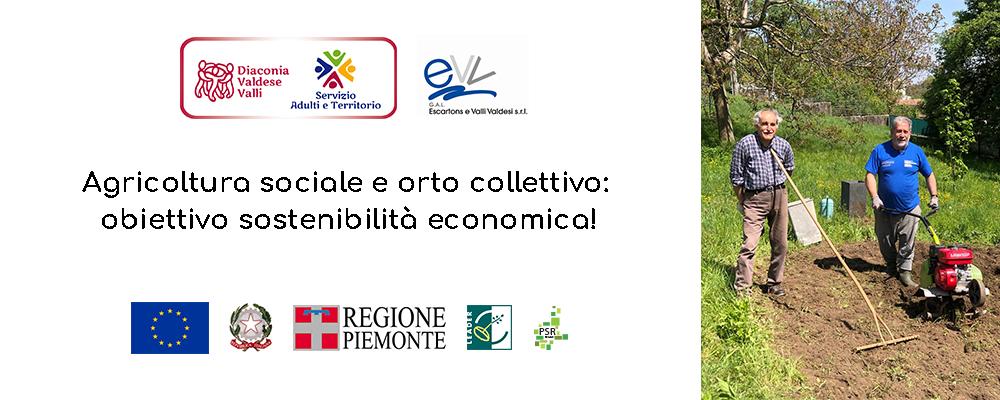 Agricoltura sociale e orto collettivo: obiettivo sostenibilità economica!