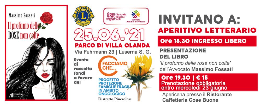 Il Lions Club di Luserna San Giovanni-Torre Pellice a favore del  Progetto Protezione Famiglie Fragili in ambito oncologico